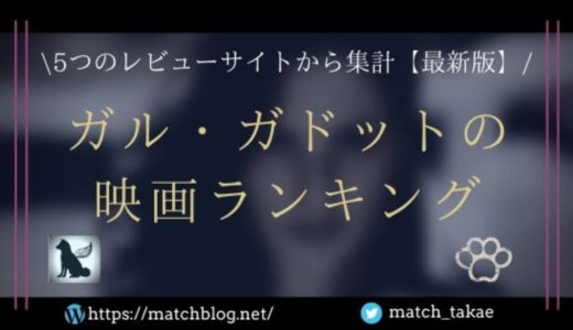ガル・ガドット出演の映画ランキング【最新版・5つのレビューサイトを集計】