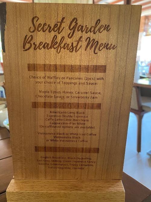 フュージョンリゾートの朝食2